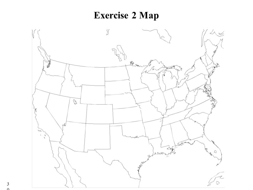 Exercise 2 Map 39