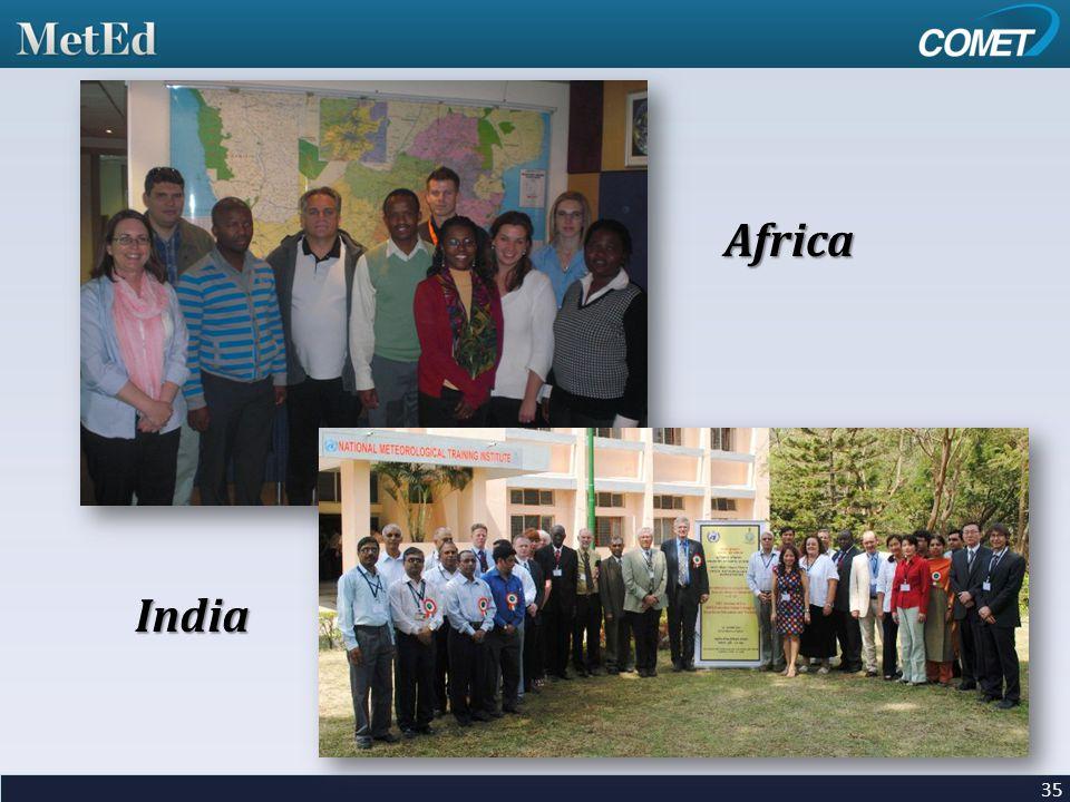 35 Africa India