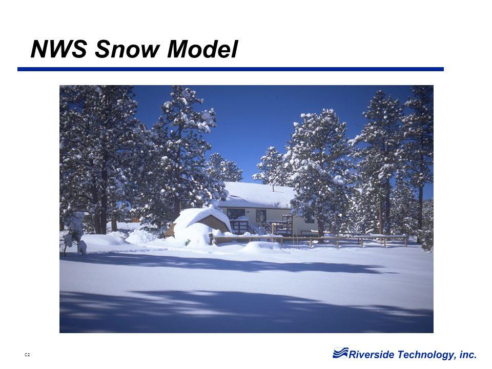 C2 NWS Snow Model