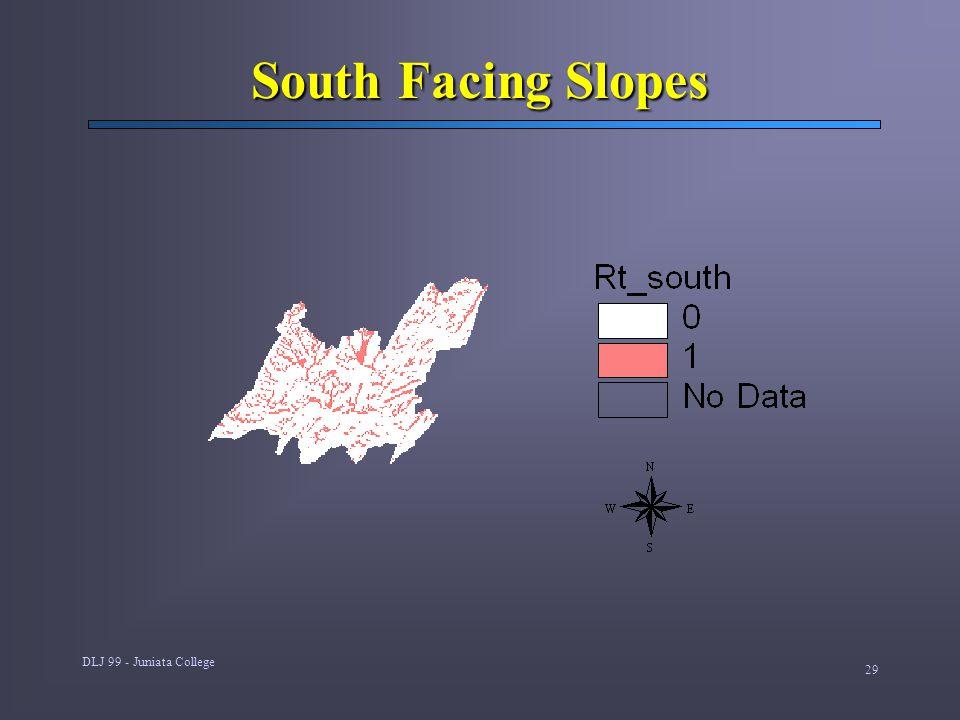 DLJ 99 - Juniata College 29 South Facing Slopes