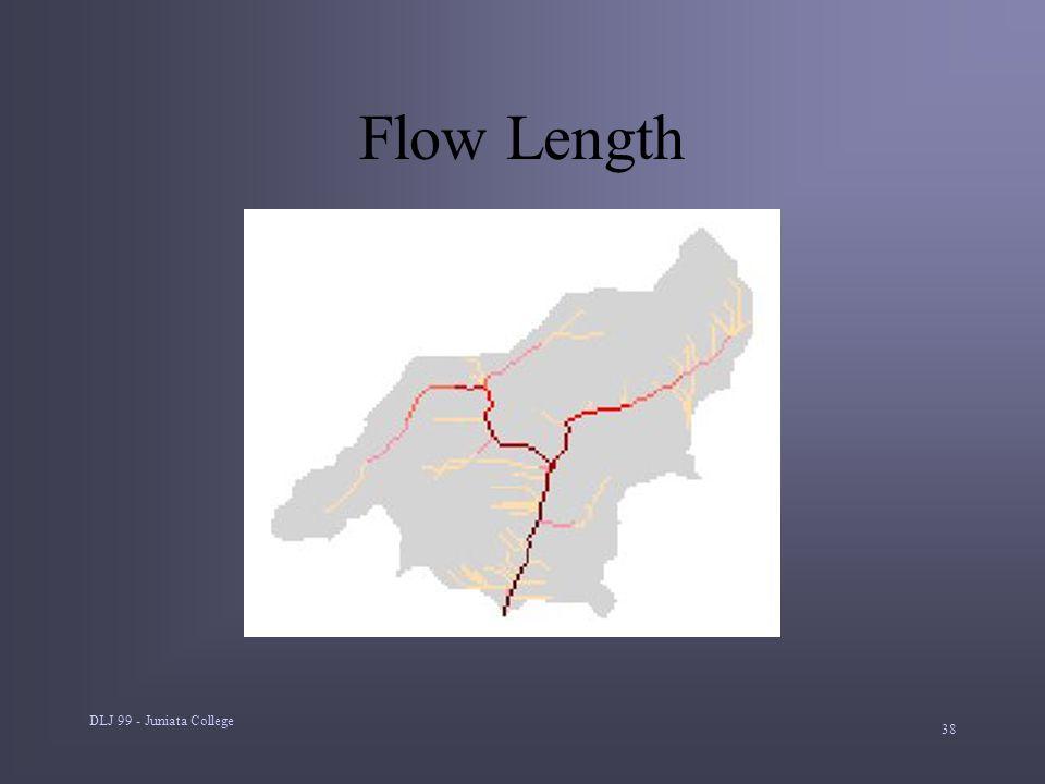 DLJ 99 - Juniata College 38 Flow Length