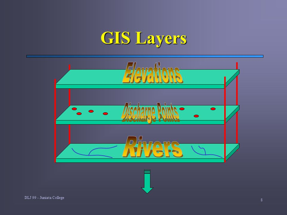 DLJ 99 - Juniata College 8 GIS Layers