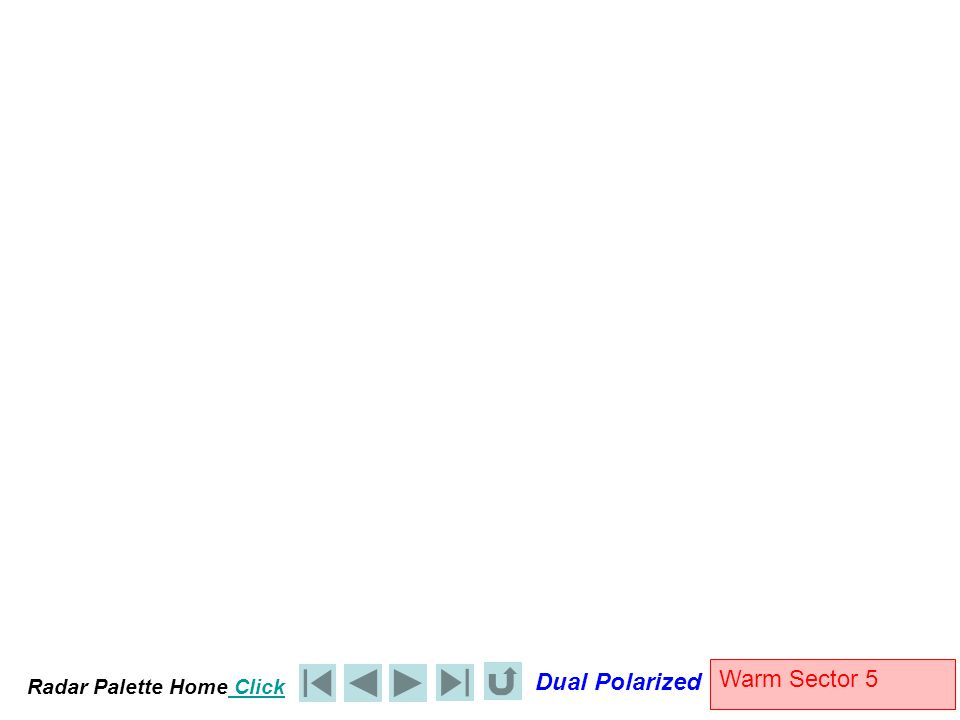 Radar Palette Home Click Dual Polarized Warm Sector 5