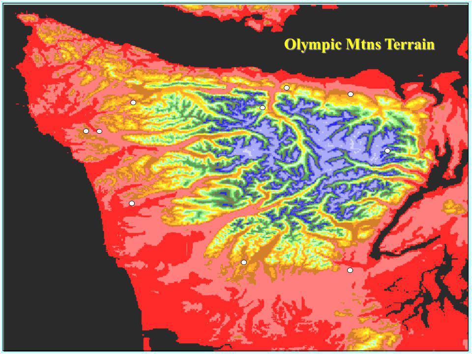 Olympic Mtns Terrain