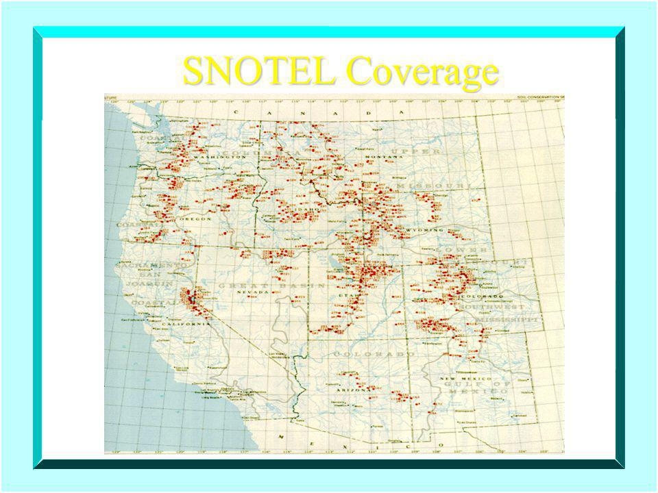 SNOTEL Coverage