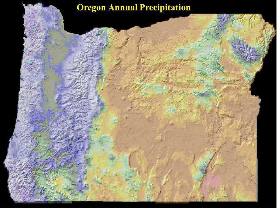 Oregon Annual Precipitation