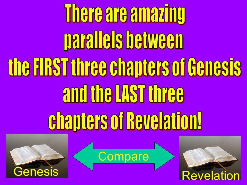 Genesis Revelation Compare