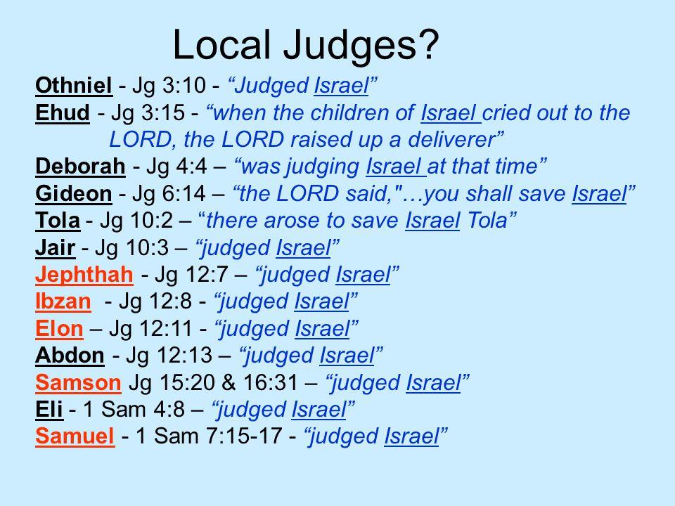 Local Judges.