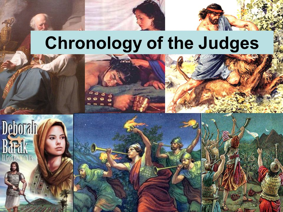 Chronology of the Judges