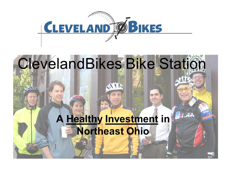 ClevelandBikes Bike Station A Healthy Investment in Northeast Ohio