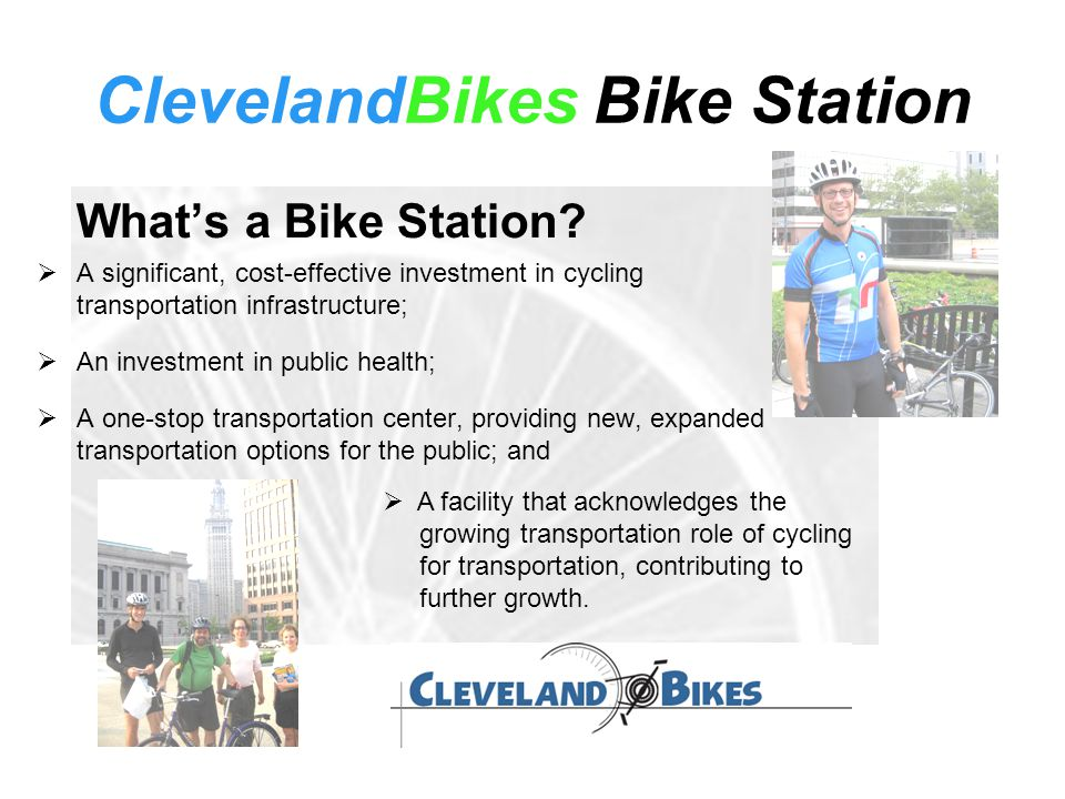 ClevelandBikes Bike Station What's a Bike Station.
