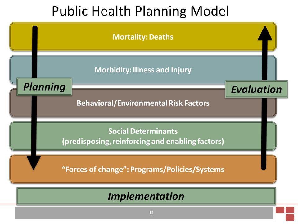 Public Health Planning Model 11