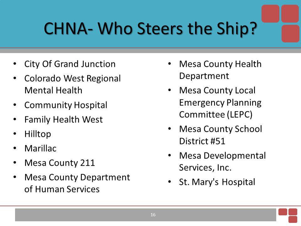 City Of Grand Junction Colorado West Regional Mental Health Community Hospital Family Health West Hilltop Marillac Mesa County 211 Mesa County Departm