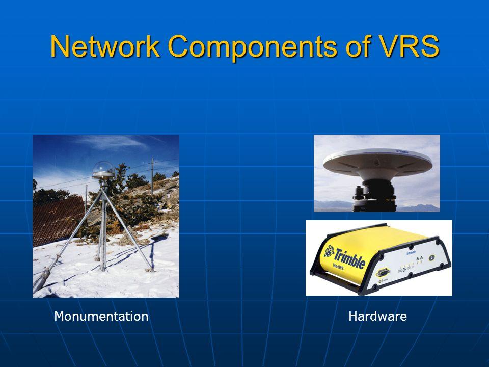 Network Components of VRS Monumentation Hardware