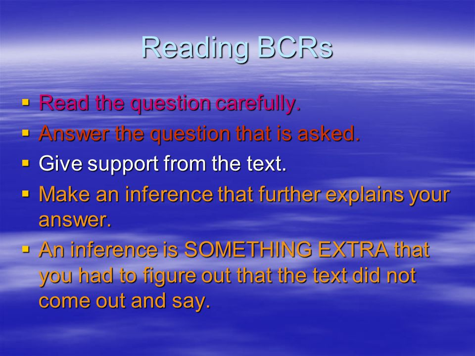 Math BCRs  WHY BCRs-Prove It!  Prove it by showing the math two ways.  Prove it by showing the inverse operation.  Prove it with a labeled math dr