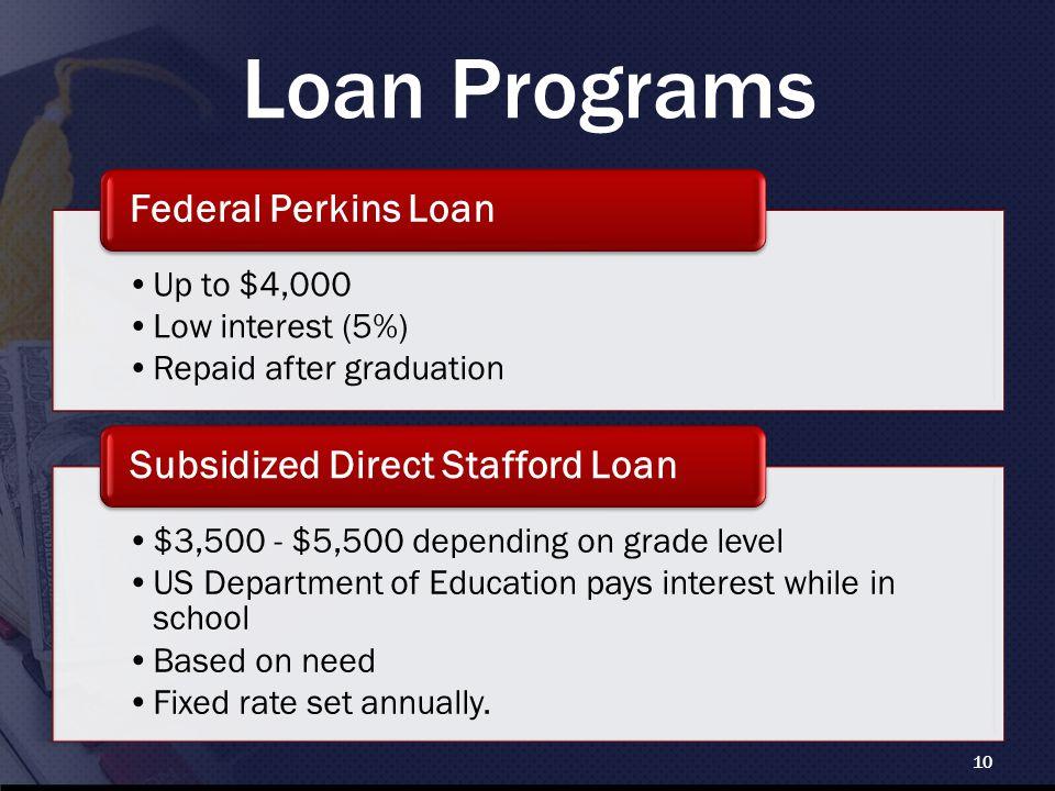 Loan Programs 10