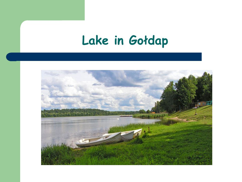 Lake in Gołdap