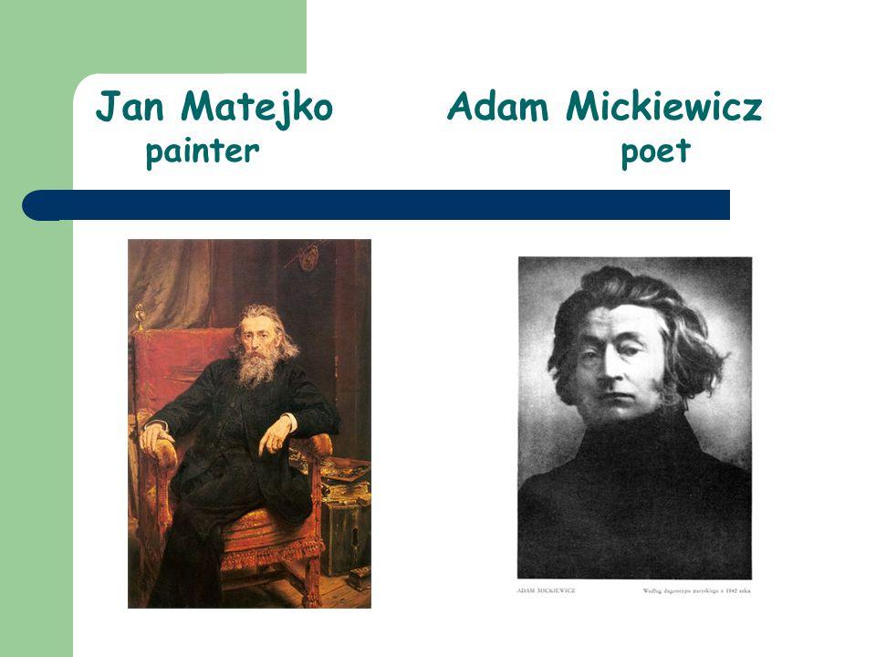 Jan MatejkoAdam Mickiewicz painterpoet