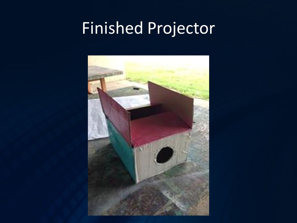 Finished Projector