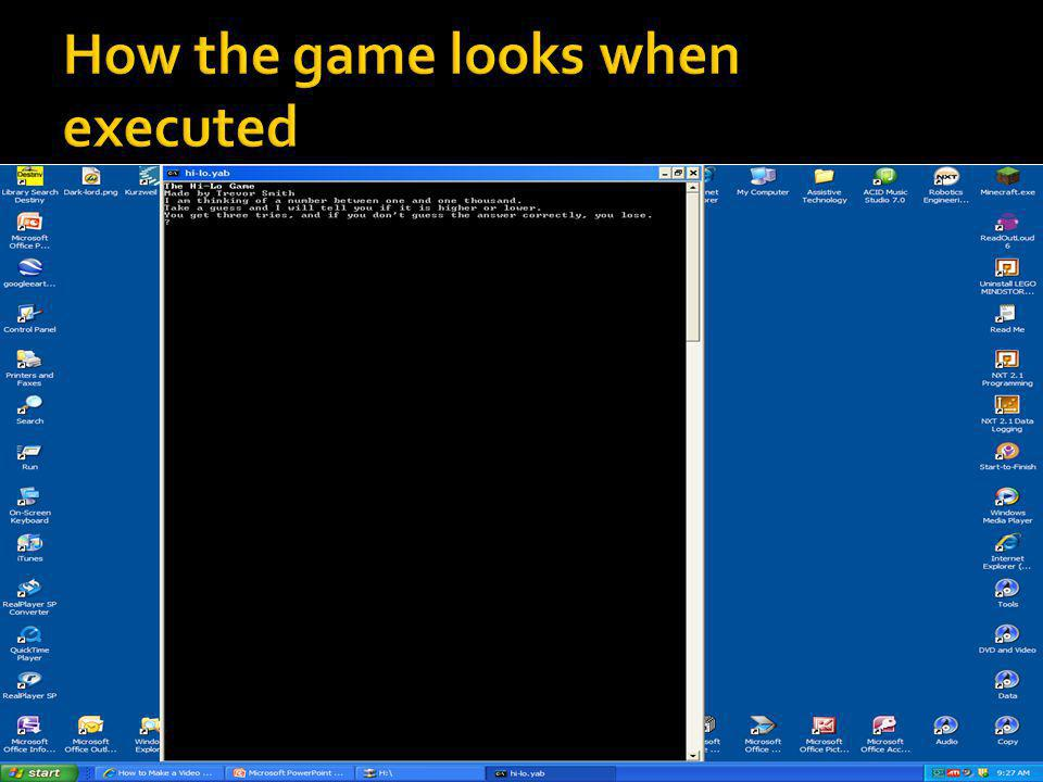  I had to edit the code at least 4 times throughout the process of making my game.