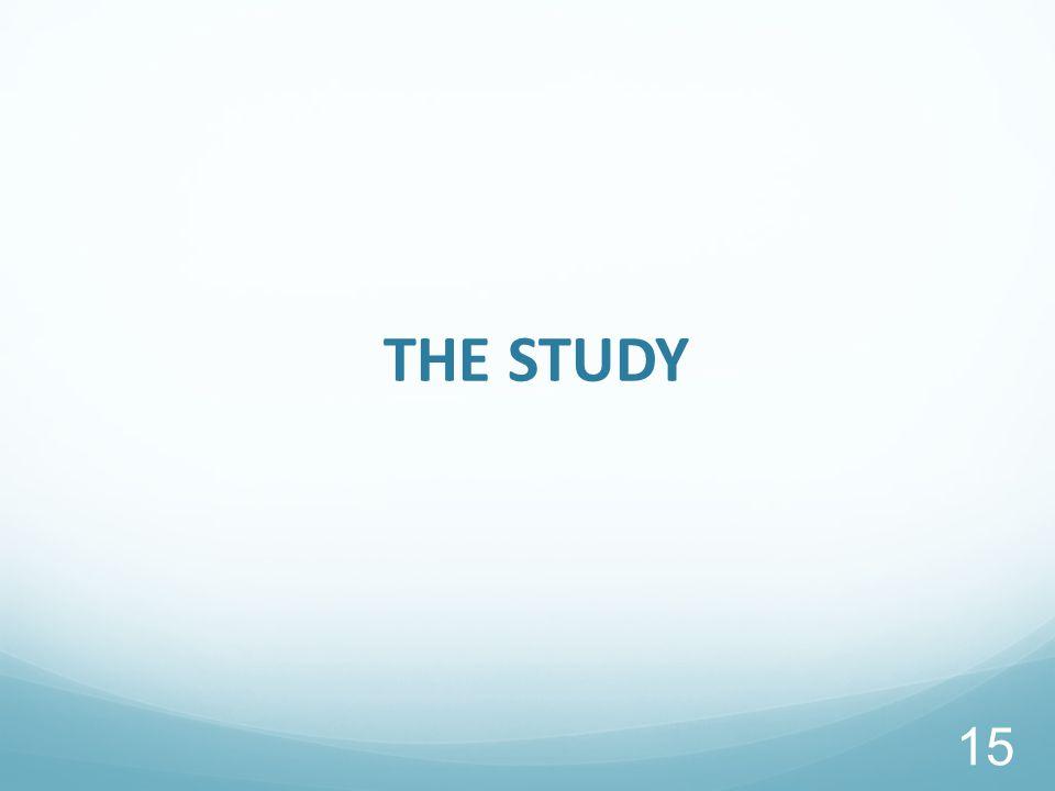 THE STUDY 15