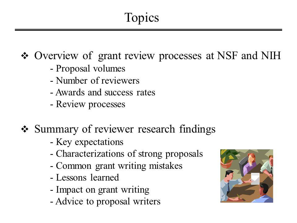 Survey: Fairness of NIH Peer Review (2013)