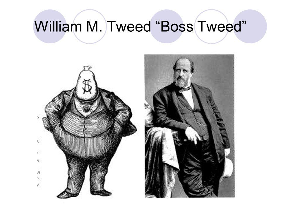 """William M. Tweed """"Boss Tweed"""""""