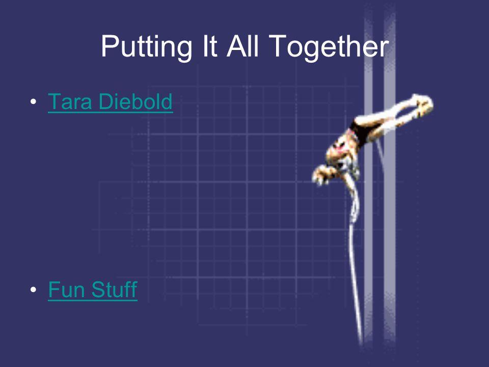 Putting It All Together Tara Diebold Fun Stuff