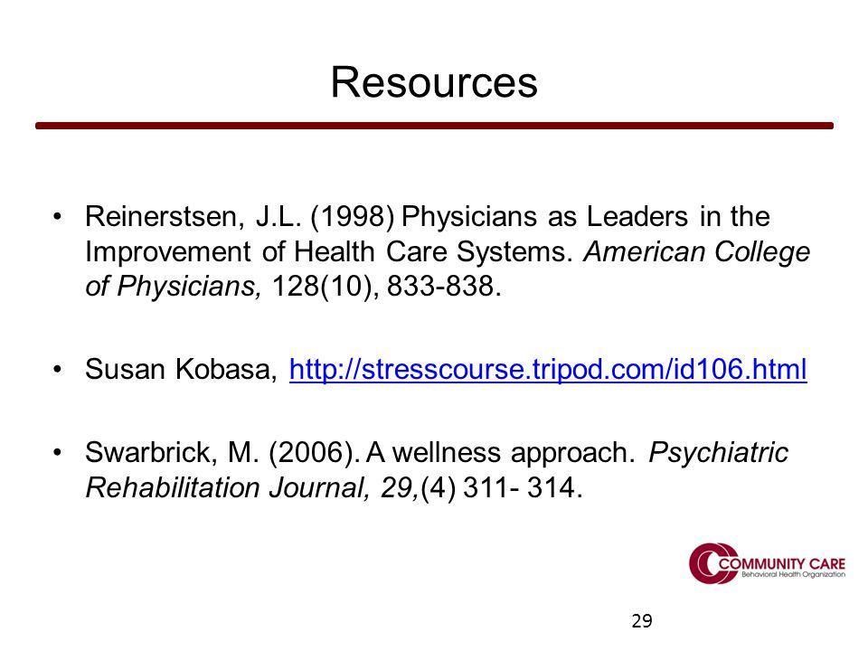 29 Resources Reinerstsen, J.L.