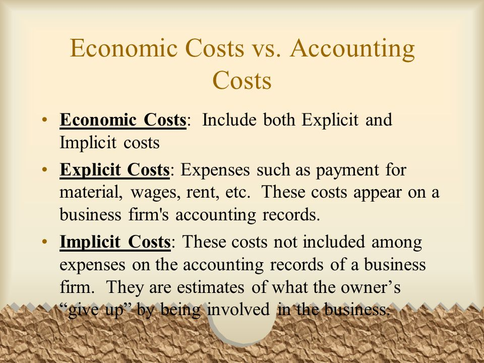 Marginal Cost Marginal Cost (MC): the additional cost of producing one more unit of output.
