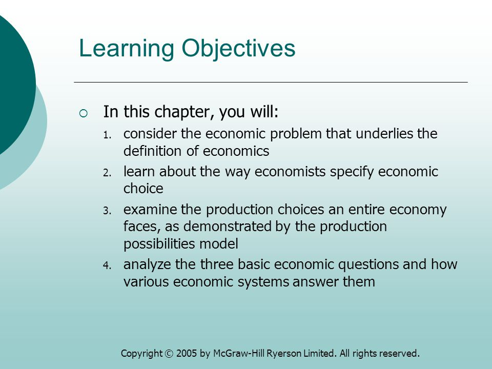 Learning Objectives  In this chapter, you will: 1.