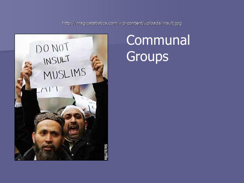 http://magicstatistics.com/wp-content/uploads/insult.jpg Communal Groups