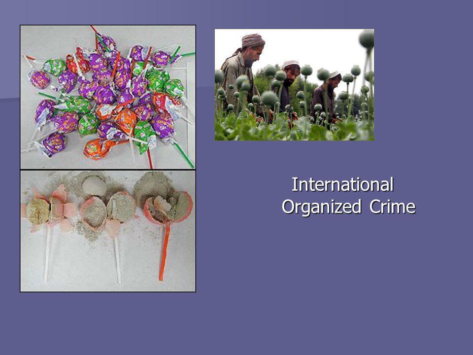 International Organized Crime