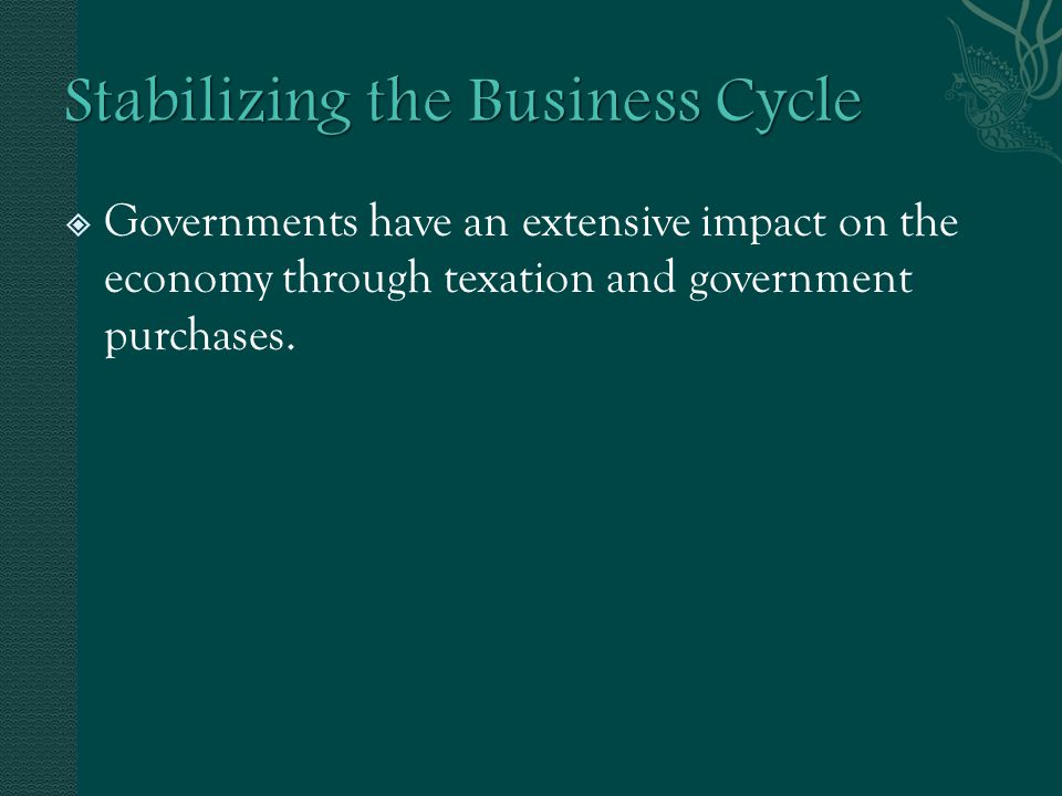  Fiscal Policy uses taxes and government purchases as its tools  Fiscal Year is the 12-month period to which a budget applies  Monetary policy uses interest rates and the money supply as its tool.