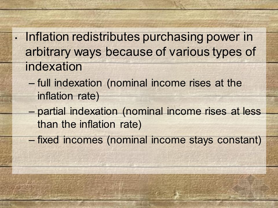 Inflation's Effects (b) Nominal Interest rate: The interest rate expressed in money terms.