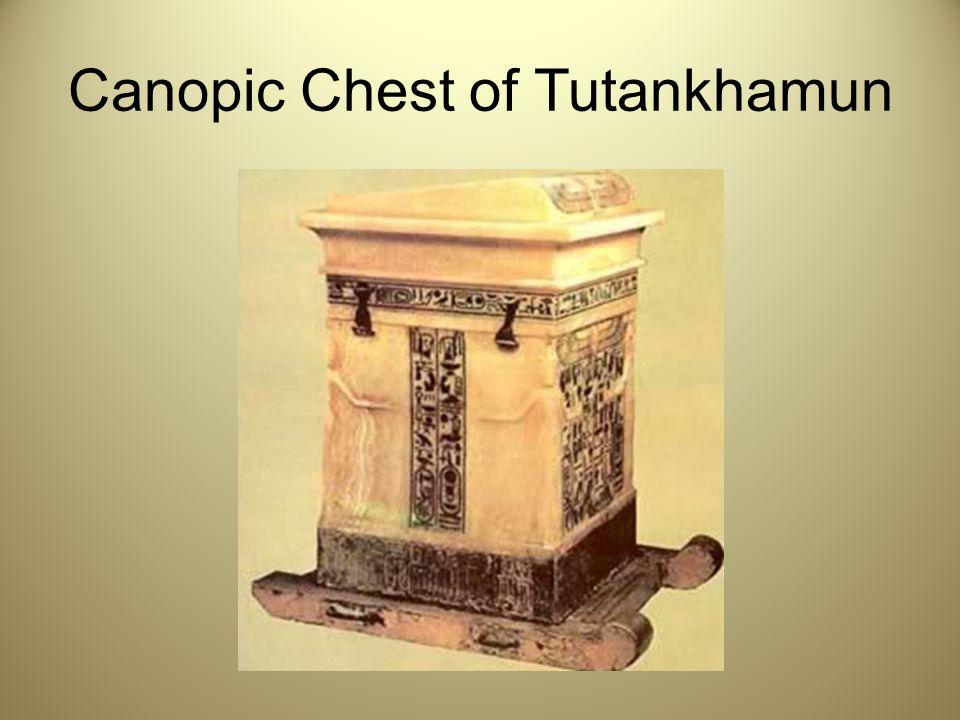 Canopic Chest of Tutankhamun