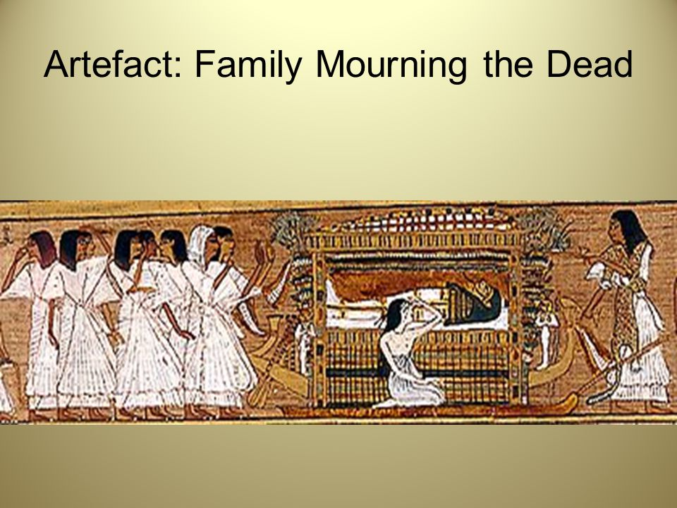 Artefact: Family Mourning the Dead