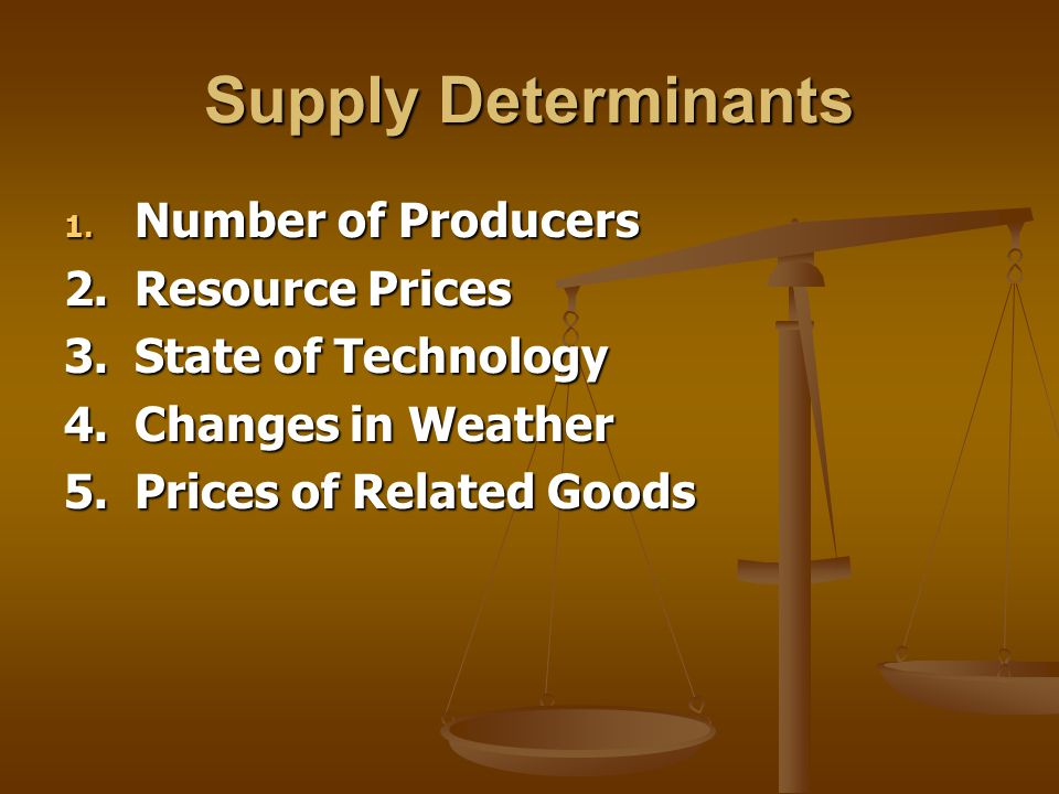 Changes In Supply While price changes will cause quantity supplied to change, other factors can cause supply to increase or decrease While price changes will cause quantity supplied to change, other factors can cause supply to increase or decrease