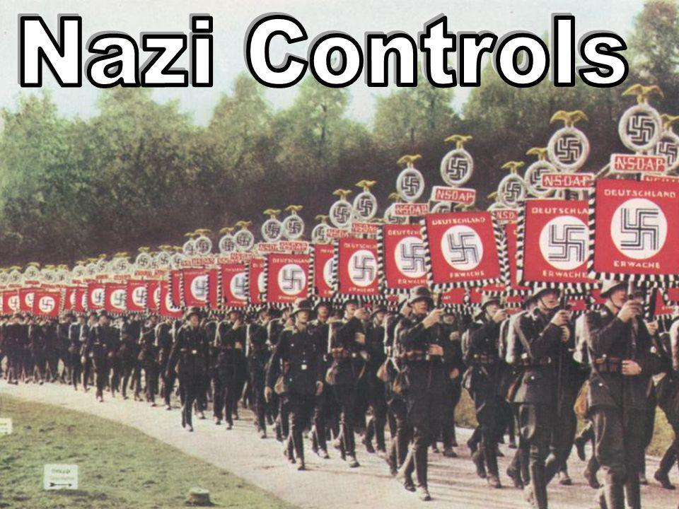 I am Adolf Hitler the leader (der Fuhrer) or dictator of Germany from 1933 to 1945. What is Nazism? extremely fascist, nationalistic and totalitarian
