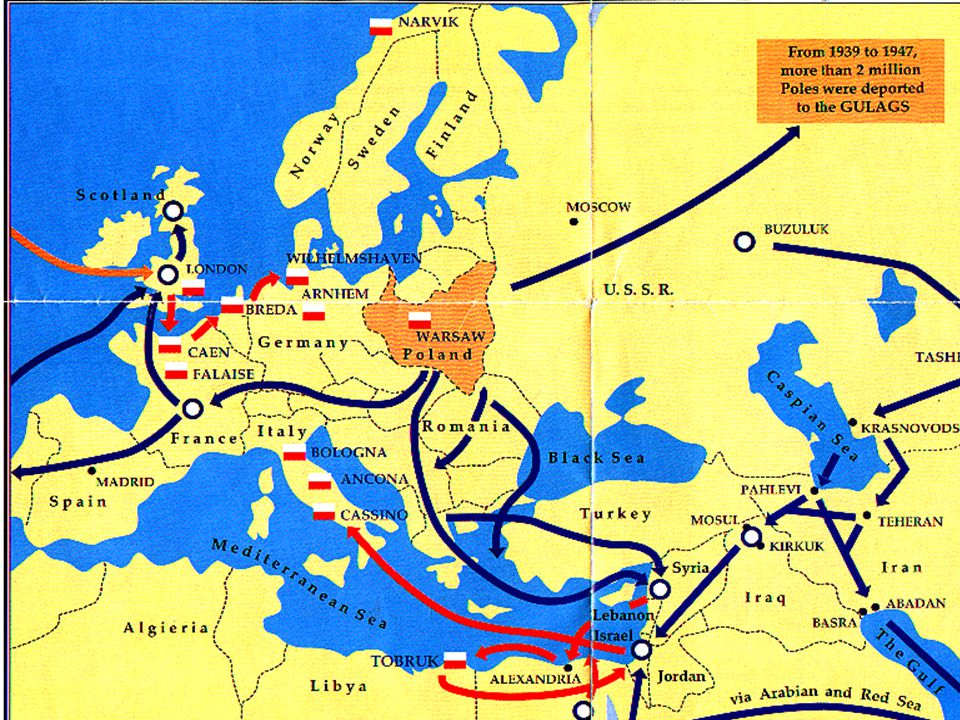 Poland – Result of Pact on Target Nations About a week after the signing of the pact, German forces entered Poland.