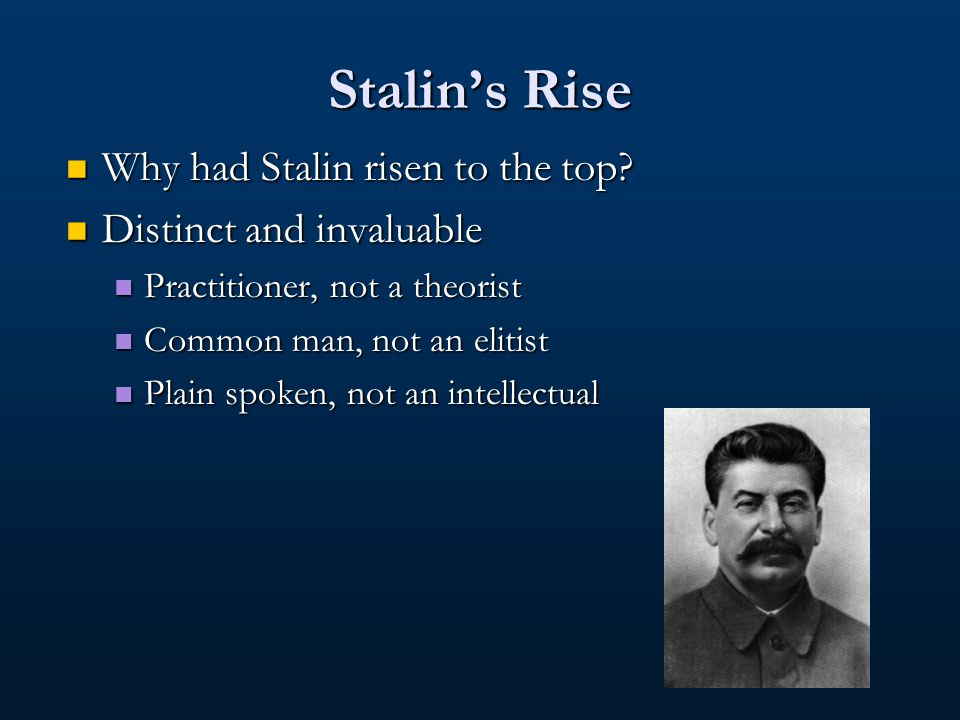 Factors That Created the Purges Stalin Stalin Role and function Role and function Leadership and power Leadership and power Party Party Development and structure Development and structure Ideology Ideology Values and language Values and language Oppositions Oppositions Leftist Opposition of 1927 Leftist Opposition of 1927 Rightist Opposition of 1930 Rightist Opposition of 1930