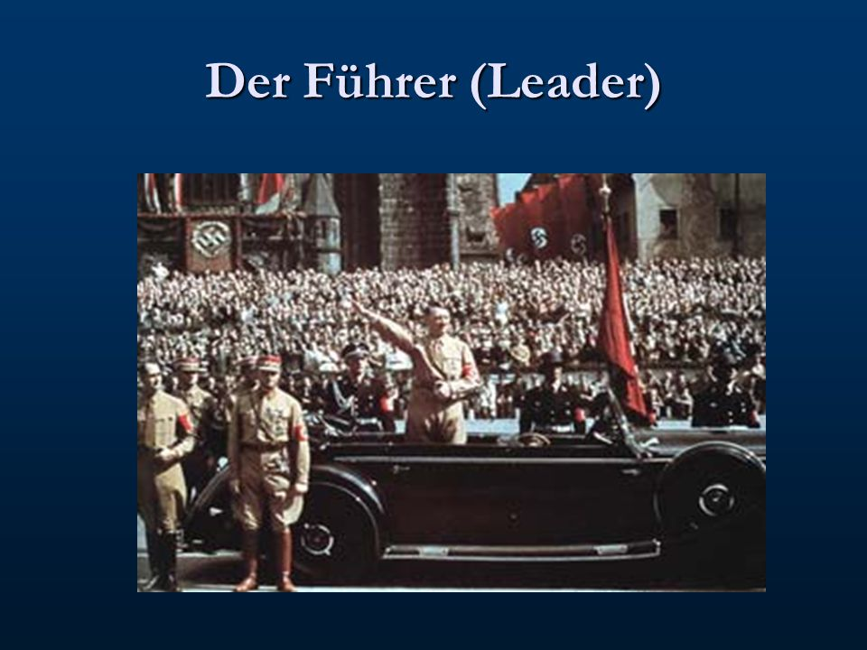 DEATH OF PRESIDENT HINDENBURG HITLER BECAME CHANCELLOR THE REICHSTAG FIRE THE ENABLING ACT THE NIGHT OF THE LONG KNIVES OATH OF LOYALTY TO HITLER FUHRER