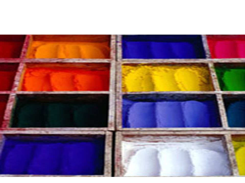 Dyes in ice-creams Food colors that are artificially made using various chemicals.
