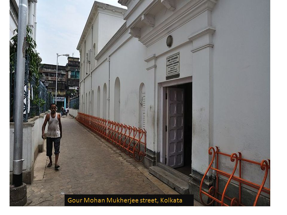 Birth place of Narendranath Datta (Swami Vivekananda) in Kolkata, India, now it is maintained by the Ramakrishna Mission.