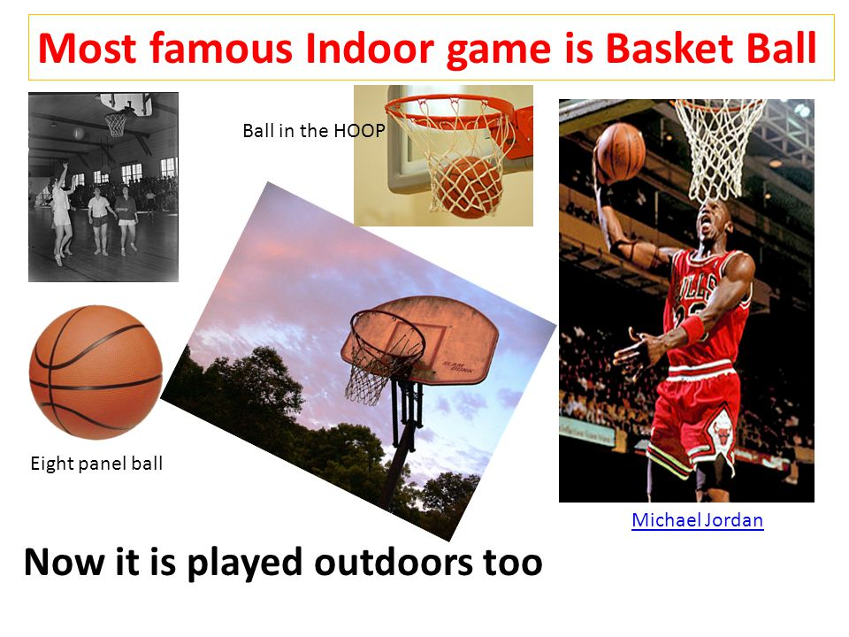 Basket Ball- Outdoor Game with basket & Ball in the court played between two teams