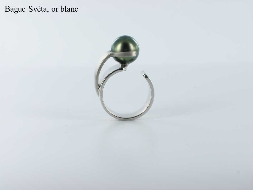 Bague Svéta, or blanc