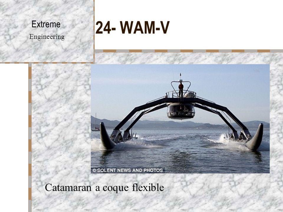 24- WAM-V Extreme Engineering Catamaran a coque flexible
