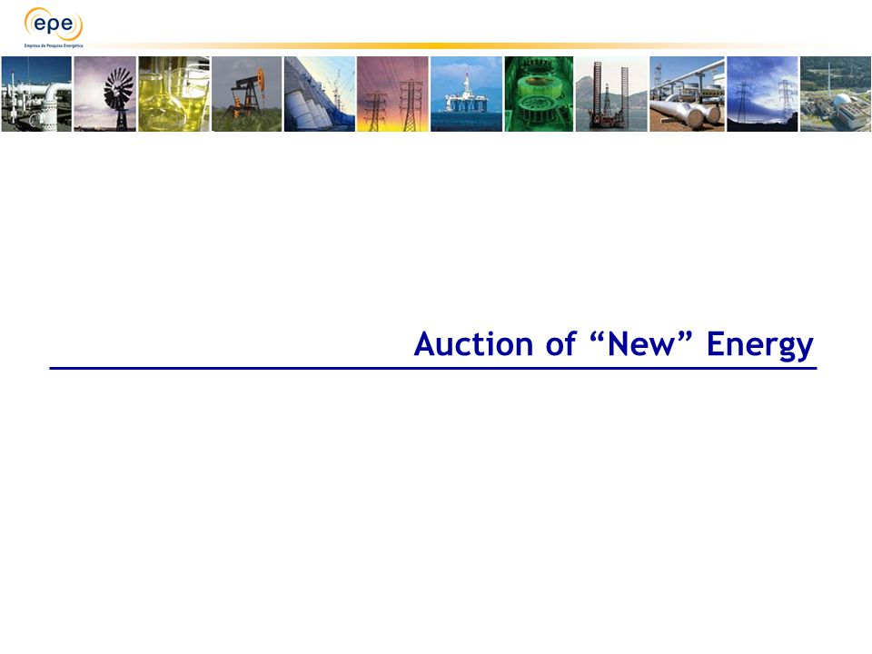 Auction of New Energy