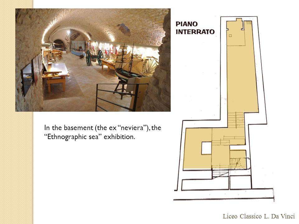 In the basement (the ex neviera ), the Ethnographic sea exhibition. Liceo Classico L. Da Vinci