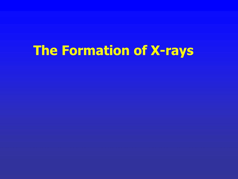 X-rays are sometimes defined as having wavelengths between 10 -10 and 10 -12 m. A more robust definition of X-rays, however, is their mode of producti